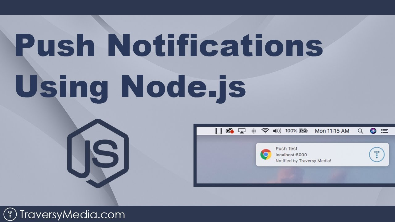 Push Notifications Using Node js & Service Worker