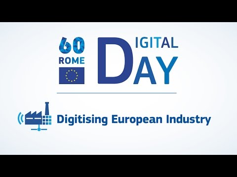 Digital Day: Digitising European Industry
