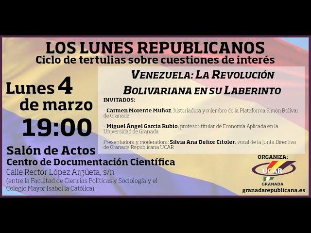 Venezuela: la Revolución Bolivariana en su laberinto - Carmen Morente y Miguel Ángel García