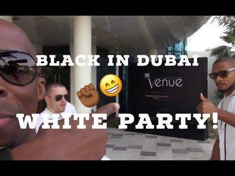 Black In Dubai | White Party in Abu Dhabi! #Lit
