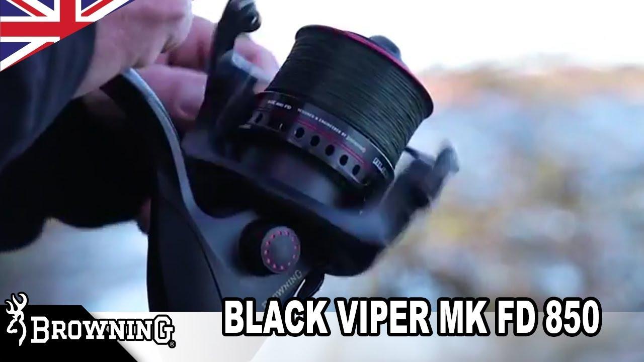 Browning Rolle Black Viper MK FD 850 Feederrolle Weitwurfrolle Feederreel