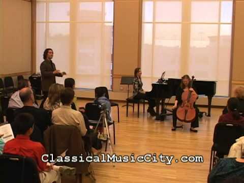 Zuill Bailey coaching Haydn cello concerto