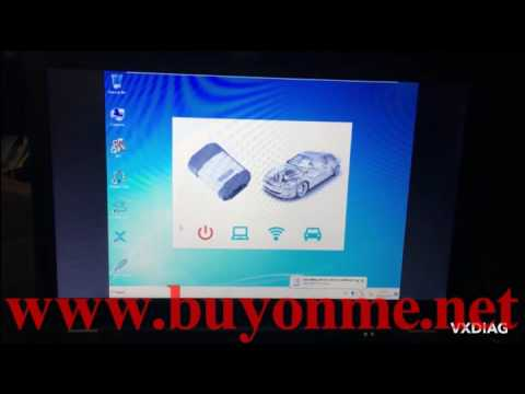 How to use VCX PRO VXDIAG VCX NANO Pro for Ford GM and VW to diagnostic ford cars?