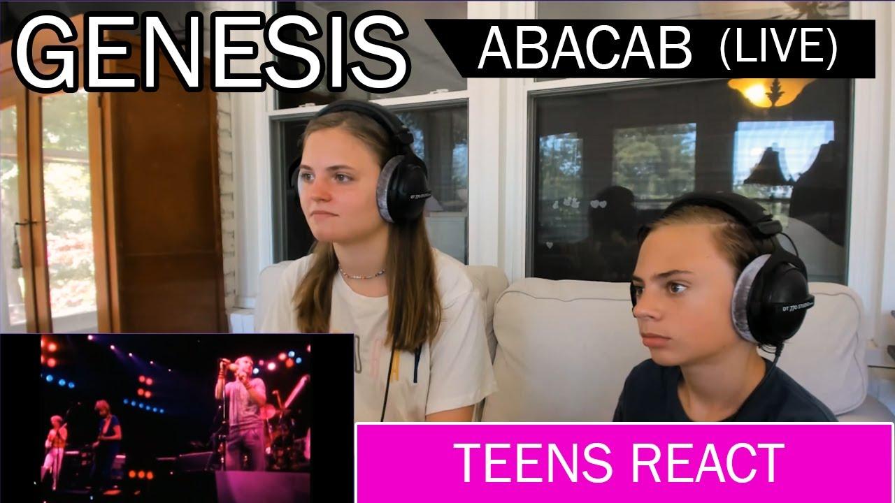 Teens Reaction - Genesis (Abacab) Live 1981