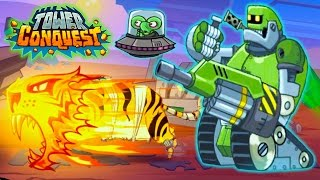 Tower Conquest БИТВА НА АРЕНЕ и НОВЫЕ ВОИНЫ Мультик игра для детей про БОИ И СРАЖЕНИЯ