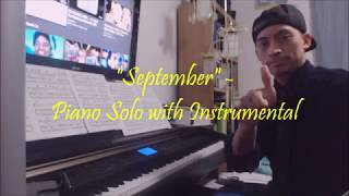 Earth, Wind, & Fire - September - Piano Solo with Instrumental
