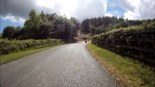 Castle Hill Climb 03.08.13 Suzuki TL1000S