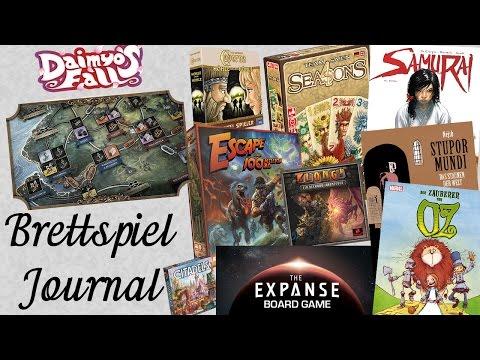 Spiele Journal 19.05.2017 News rund um Brettspiele und Comics