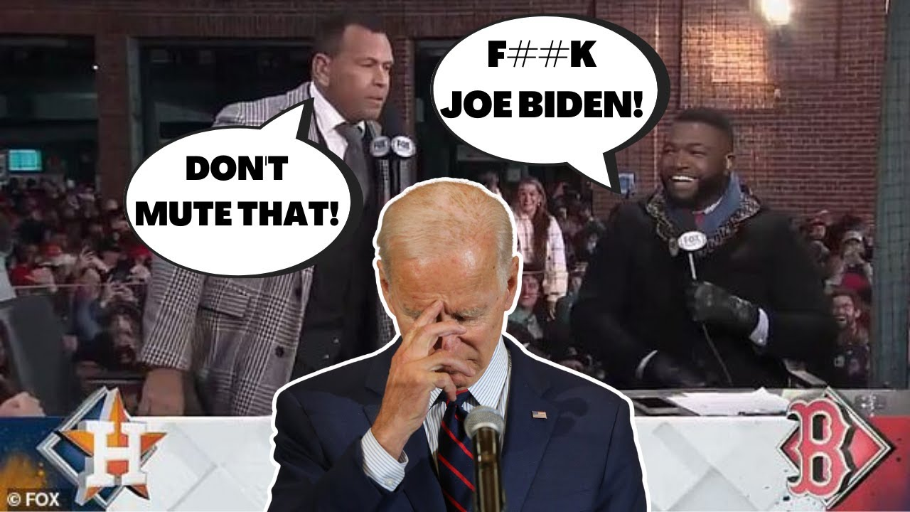 Download Red Sox Fans Chant F**k JOE BIDEN During MLB ALCS Postgame on Fox! Fox DOES NOT Mute This!
