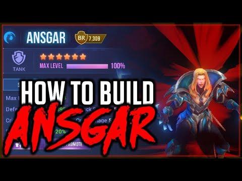 HOW TO BUILD ANSGAR (Water Vampire)   Dungeon Hunter Champions