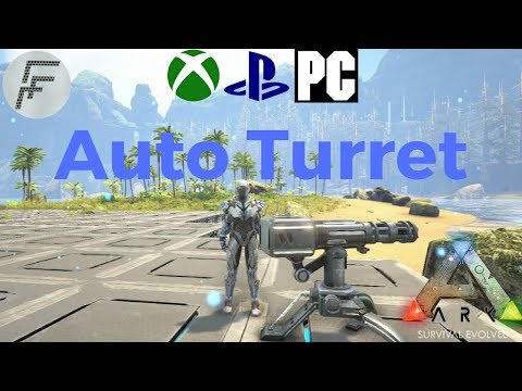 ARK: Survival Evolved How to spawn an Auto turret