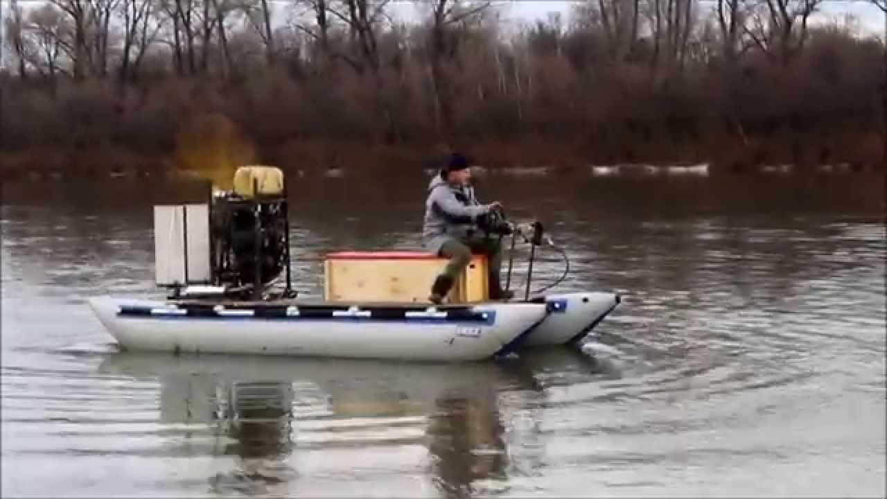 подвесной аэродвигатель на лодку