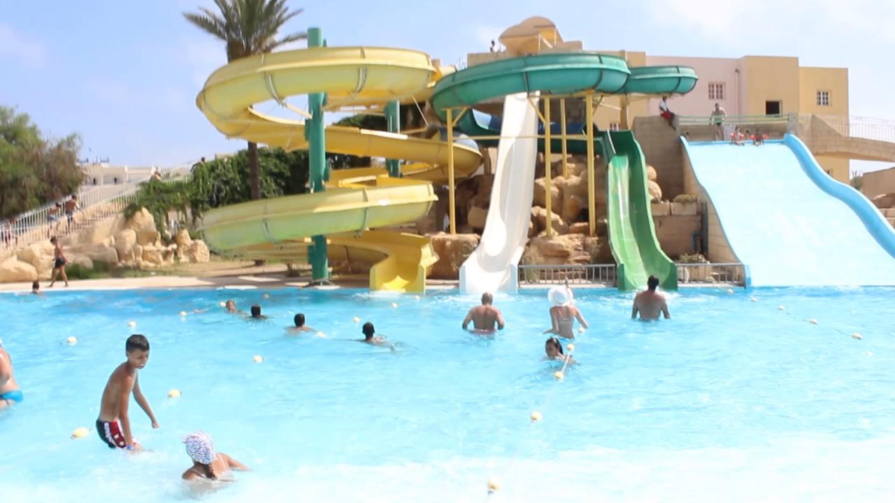 отель Houda Golf & Beach Club 3* горки - YouTube