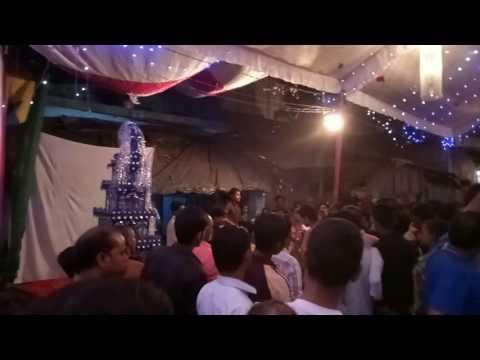 Moharram and durgapuja at same venue at...