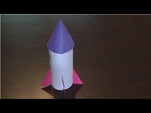 Kids Crafts How To Make A Rocket Ship From A Plastic Bottle Youtube