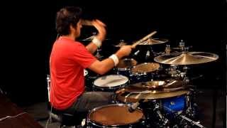 Cobus Bomfunk MC S B Boys Flygirls Drum Cover