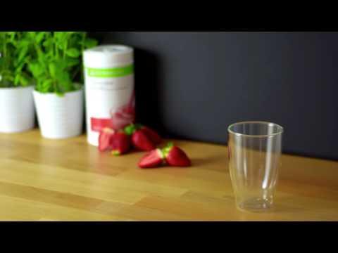 Взырв вкуса Herbalife Рецепт дня Освежающая клубника & мята без регистрации и смс