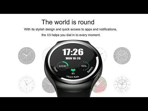 *Flash Sale* K9 3G Smartwatch Phone - Gearbest.com