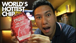 FILIPINO TRY WORLD'S HOTTEST CHIP (One Chip Challenge)