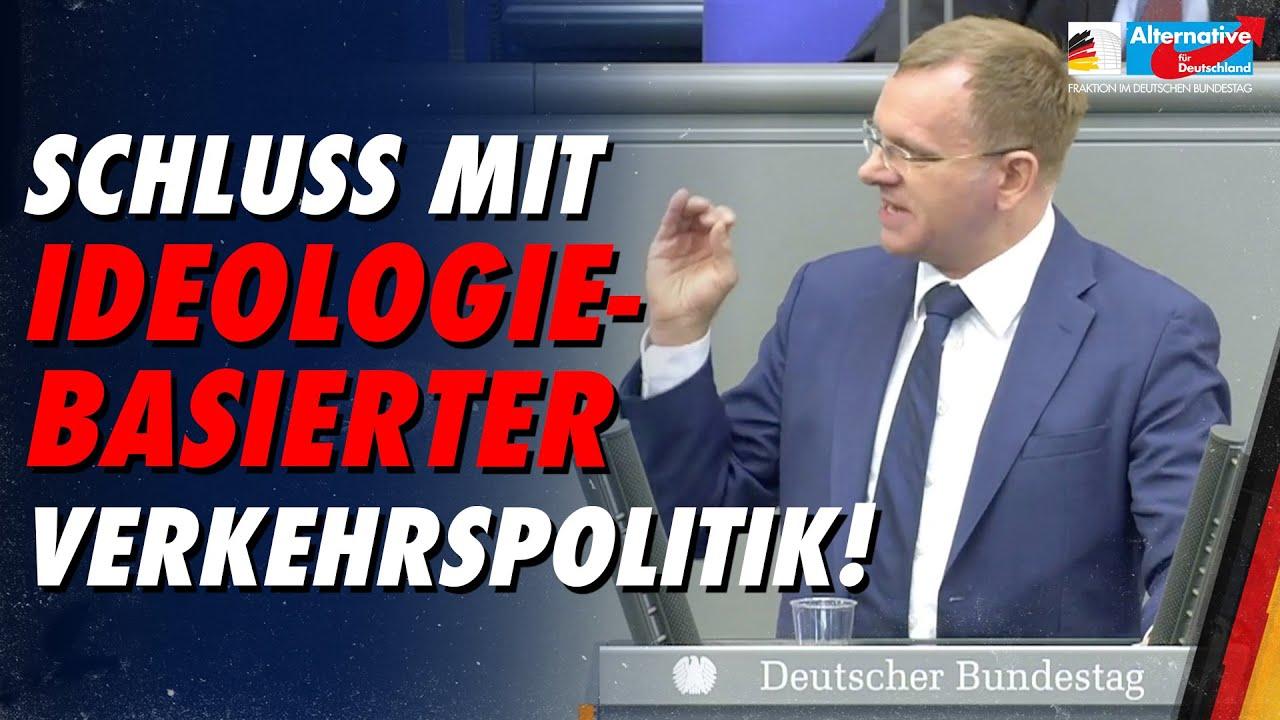 Schluss mit ideologiebasierter Verkehrspolitik! - Dirk Spaniel - AfD-Fraktion im Bundestag