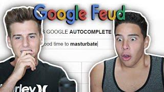 Reacting To Google Feud!