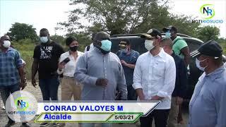 Ministro del Interior Daniel Palacios Martínez entrega cuerpo de bomberos voluntarios de Riosucio.