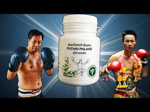что принимают бойцы муай тай PUCHAI PHLAND тайская традиционная медицина, 100{a9128559b5485a1d9886df37dadea1464ebb0d66b0e9967d196d9ac06c5d4e5a} травяные капсулы