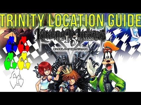 Kingdom Hearts 1.5 HD - Kingdom Hearts Final Mix - Trinity Mark Locations Guide Best Friend Trophy