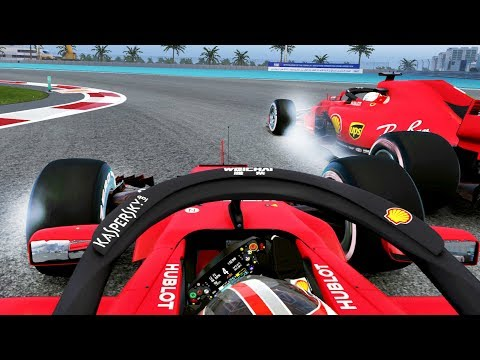 CHAMPIONSHIP DECIDER FINALE! F1 2019 Mod CAREER MODE Part 21: Abu Dhabi