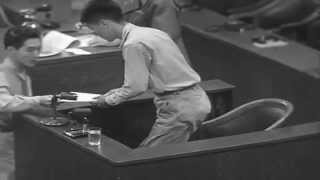 War Crimes Trials Tokyo, Japan, 08/29/1946 (full)