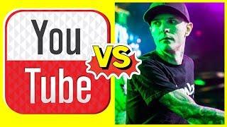 Youtuber vs Deadmau5 | Hardwell ES FAN DE UN DJ LATINO | Diplo alaba a Calvin Harris