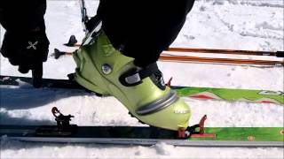 山の実用2分動画シリーズ002 山岳スキー編 素早いシールの着脱テクニック