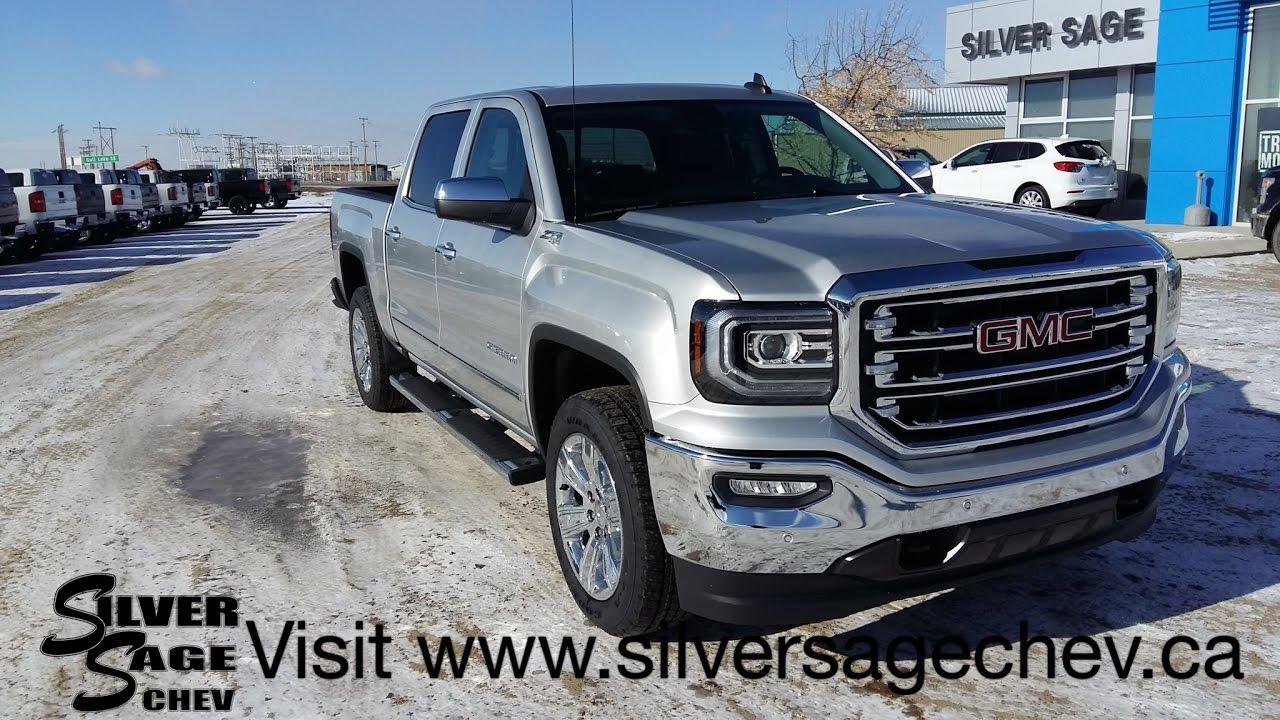 Stock T17167 Brand New 2017 Gmc Sierra Slt Premium Plus In Silver