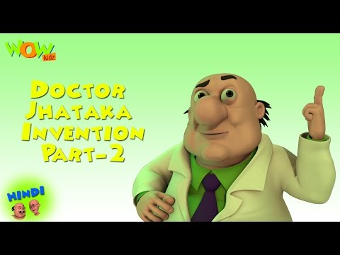 Doctor Jhatka's Inventions - Motu Patlu Compilation Part 2 - 45 Minutes of Fun!
