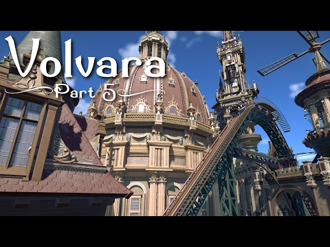 Planet Coaster - Volvara (Part 5) - Building, Planning