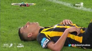 هدف الاتحاد الثالث ضد الفتح (أحمد العكايشي) في الجولة 13 من دوري جميل