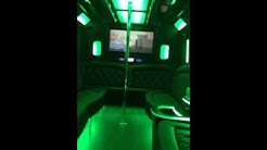 Limo Bus Interior - New Orleans