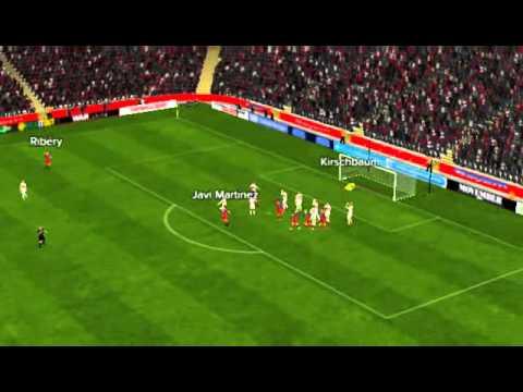 Bayern vs Stuttgart - Javi Mart�nez Goal 17 minutes