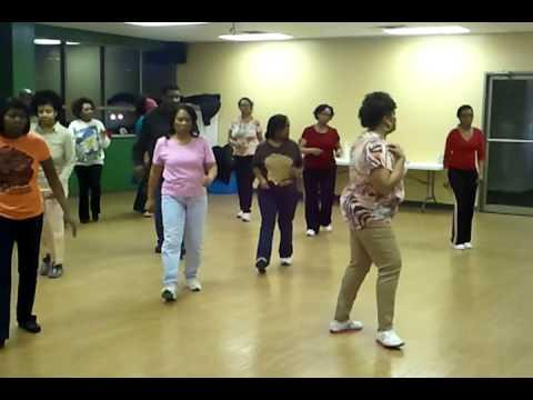"""""""Hypnotic"""" soul line dance"""
