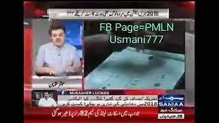 PTI Progress in General Elections 2018.Khara Sach With Mubashir Luqman on Samma News