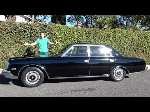 The 1990 Toyota Century Is a Japanese Rolls-Royce
