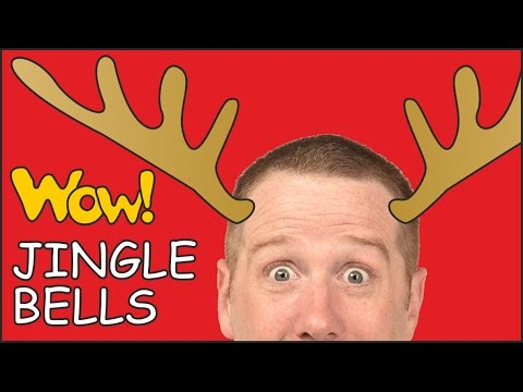 Jingle Bells NEW | Stories for Kids from Steve and Maggie | Kids Christmas Songs
