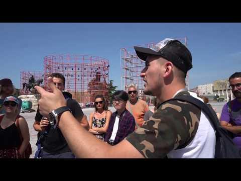 Tirana Most Informative Tour 1, Visit Albania