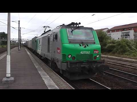 Freight trains at Woippy (Mosselle, France) 08/09/17
