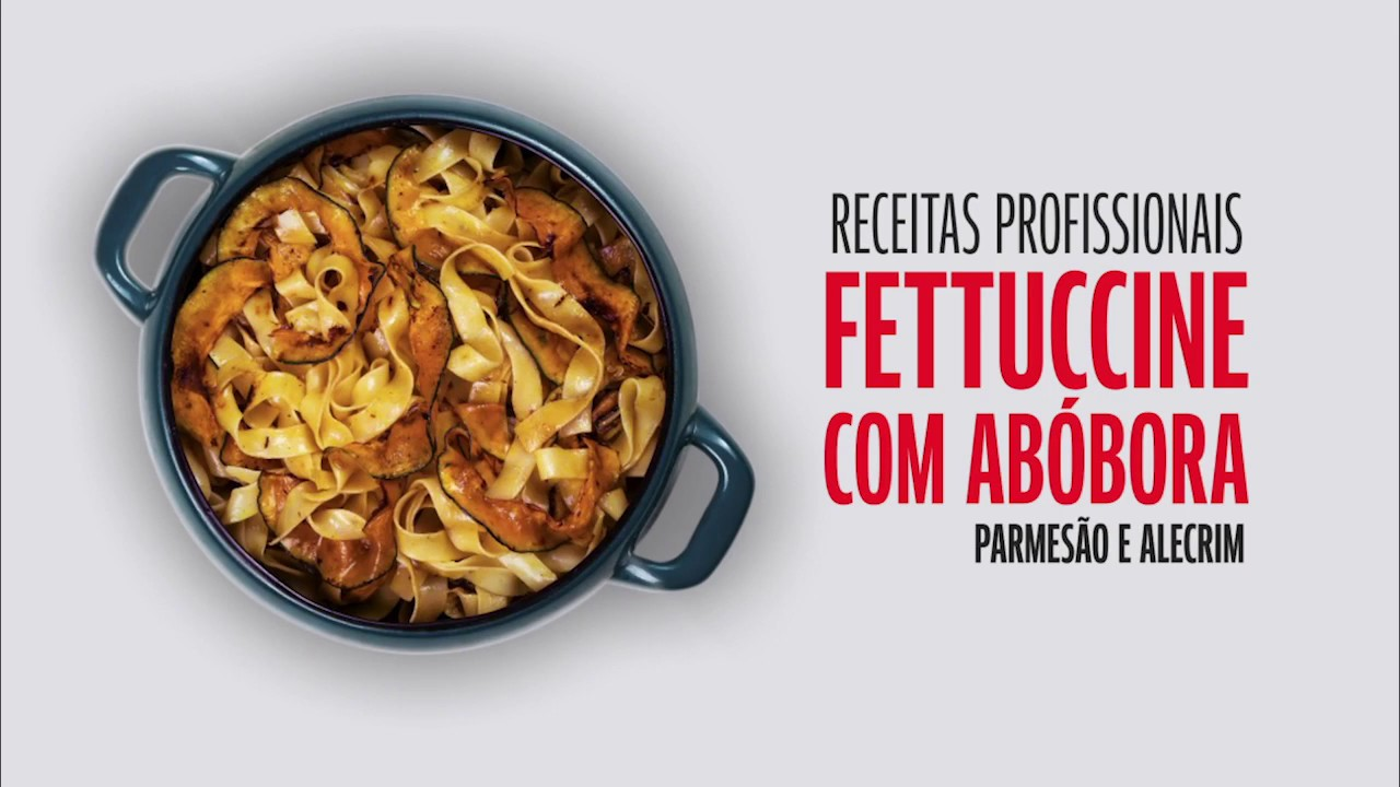 Fettuccine com Abóbora