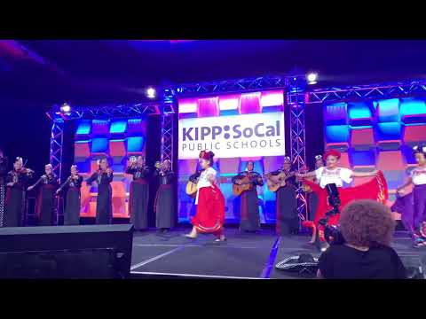 Kipp Sol Academy Mariachi featuring Kipp Illuminar folklórico dancers