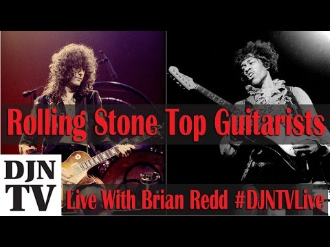 Brian And John React To Rolling Stone&39;s Top 100 Guitarists List  DJNTV