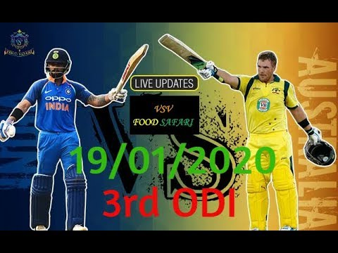 IND Vs AUS, 3rd ODI, Australia Tour Of India, 19/01/2020
