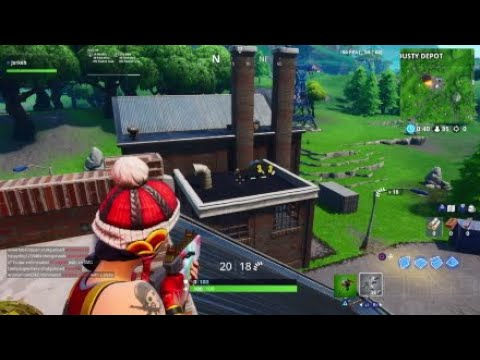 Cleaning The City Returns!! Factory!: Fortnite Ps4