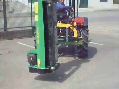 Movimientos Desbrozadora Agl125 Trinchadora Lateral Desbrozadora Hidraulica Makinor Tractor Agrifarm thumbnail
